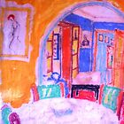 The Lounge Room. ( Homage To Matisse ) by Richard  Tuvey