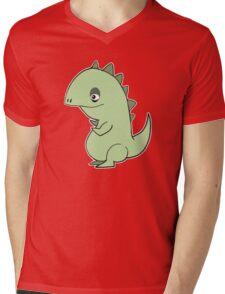 Lil' Dragon Mens V-Neck T-Shirt