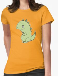 Lil' Dragon Womens Fitted T-Shirt