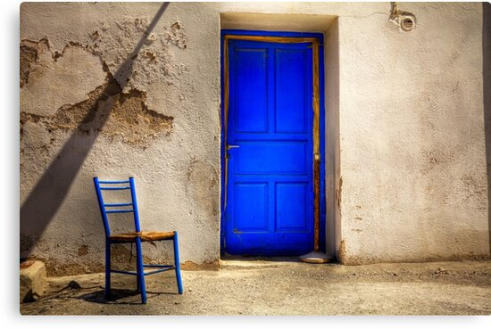 Blue Door by Paul Thompson Photography