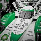 Green Photography Transportation Racing Lola Dyson ALMS LMP2 by LongbowX