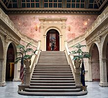 Grand Staircase - Ryan Office Building by Mark Van Scyoc