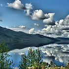 Simpson Lake, Yukon Territory by Vickie Emms