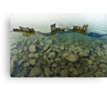 Barriers Fall Canvas Print