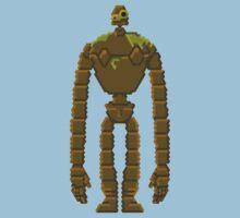 Trixel Laputa Robot by explosivebarrel