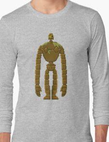 Trixel Laputa Robot Long Sleeve T-Shirt