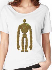 Trixel Laputa Robot Women's Relaxed Fit T-Shirt