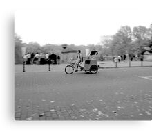 Bike Taxi Canvas Print