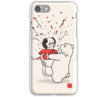 Living In The Present iPhone Case/Skin