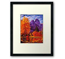 Yosemite Reflections Framed Print