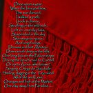 One Day Away!  Vermillion Scarf, Sintra, Portugal by Wayne Cook