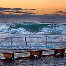 Nth Narrabeen Ocean Baths by Ian English