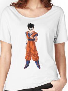 Dragonball Z - Ultimate Gohan (googly eyes) Women's Relaxed Fit T-Shirt