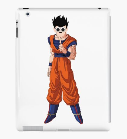 Dragonball Z - Ultimate Gohan (googly eyes) iPad Case/Skin