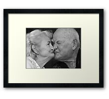 IT'S THEM AGAIN! Framed Print