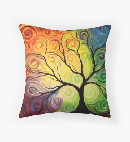 The Emergence Throw Pillow