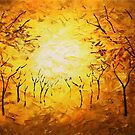 The Autumn March by Abstract D'Oyley