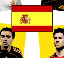 Spain 2010 World Cup Tee Sticker