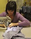 shirt maker, Asolo, Italy by Andrew Jones