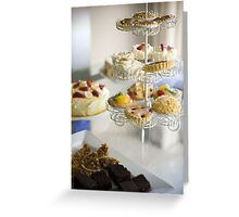 Yummy Cakes Greeting Card