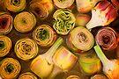 Artichokes in brine, Street market in Castelfranco, Italy by Andrew Jones