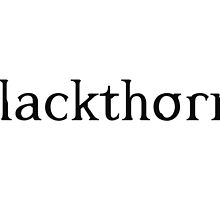 Blackthorn- Shadowhunter Chronicles by PJOKC