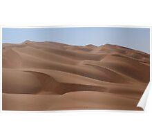 an unbelievable Saudi Arabia landscape Poster