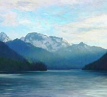 """Approaching Whistler  (2009)   - 45""""x36"""" max print size by John Fraser"""