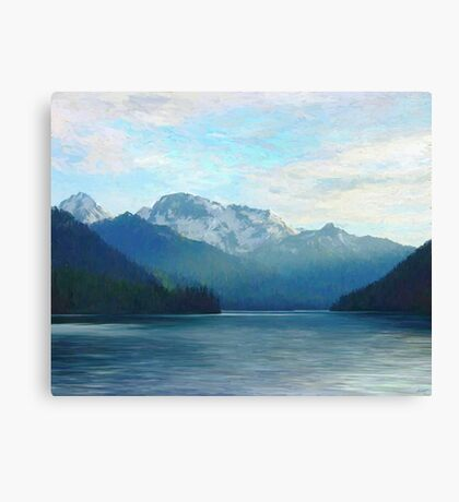 """Approaching Whistler  (2009)   - 45""""x36"""" max print size Canvas Print"""