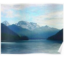 "Approaching Whistler  (2009)   - 45""x36"" max print size Poster"
