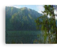 "Mountain Shade  (2009)   - 24""x18"" max print size Canvas Print"