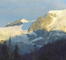 """Western Panorama  (2009)   - 52""""x20"""" max print size by John Fraser"""