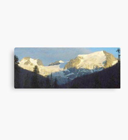 "Western Panorama  (2009)   - 52""x20"" max print size Canvas Print"