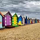 Brighton Beach by JulieM