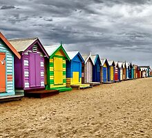 Brighton Beach by JulieM