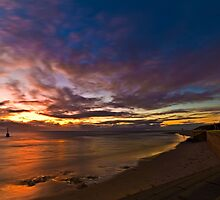 Sunset at Cottesloe 2 by Alex Asbury
