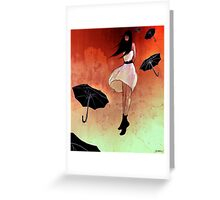 rain maker Greeting Card