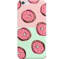 Doughnut Pattern iPhone Case/Skin