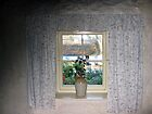 Cottage Window View by John Quinn