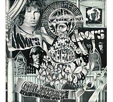 Doors Concert Poster - Toronto, (1968) - ballpoint on board Photographic Print