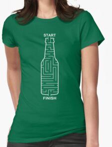 Beer Maze Funny TShirt Epic T-shirt Humor Tees Cool Tee Womens Fitted T-Shirt