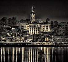 Lights of Belgrade by Milos Markovic