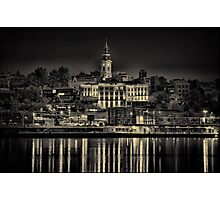 Lights of Belgrade Photographic Print
