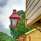 Station Lights by Trevor Kersley