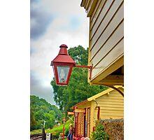 Station Lights Photographic Print