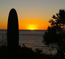 sunset at Port Noarlunga by janfoster