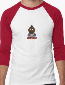 WHAT YOU LOOKIN AT SUCKA? Men's Baseball ¾ T-Shirt