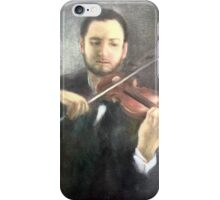 Chris and His Violin iPhone Case/Skin