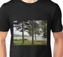 Four Trees by the Lake Unisex T-Shirt