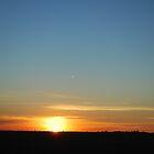 Sunset  near Loxton S.A by Kazzii